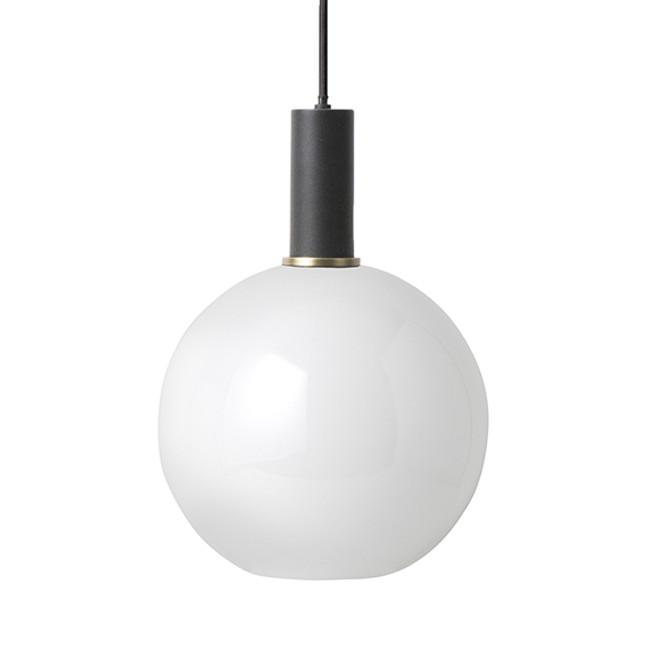 Ferm Living  |  Collect Opal Sphere Black