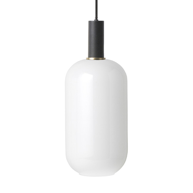 Ferm Living  |  Collect Opal Ellipse Black