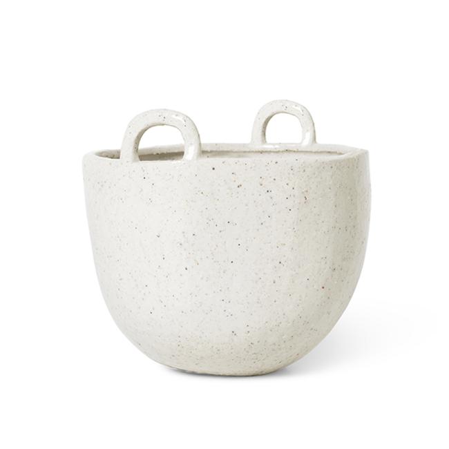 Ferm Living  |  Speckle Pot Off-White