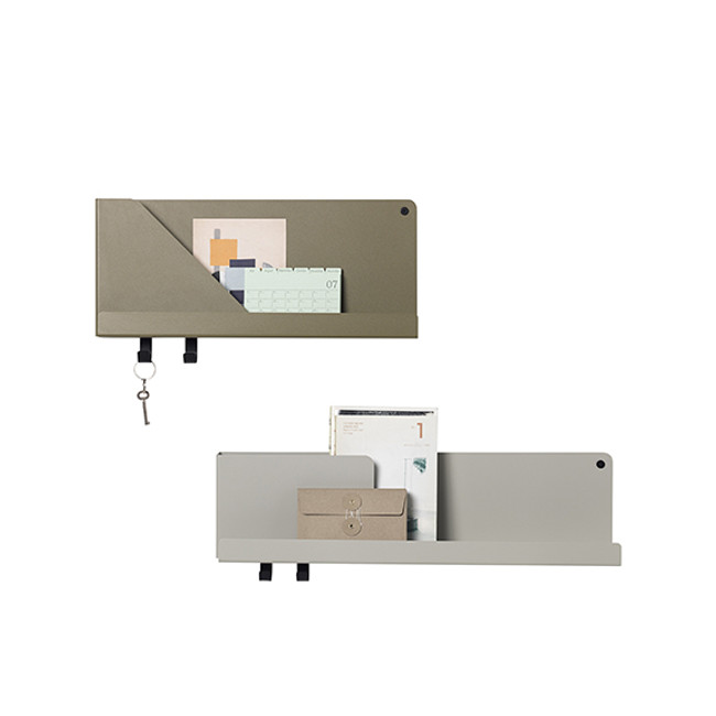 Folded Shelf is available in three colours and three sizes