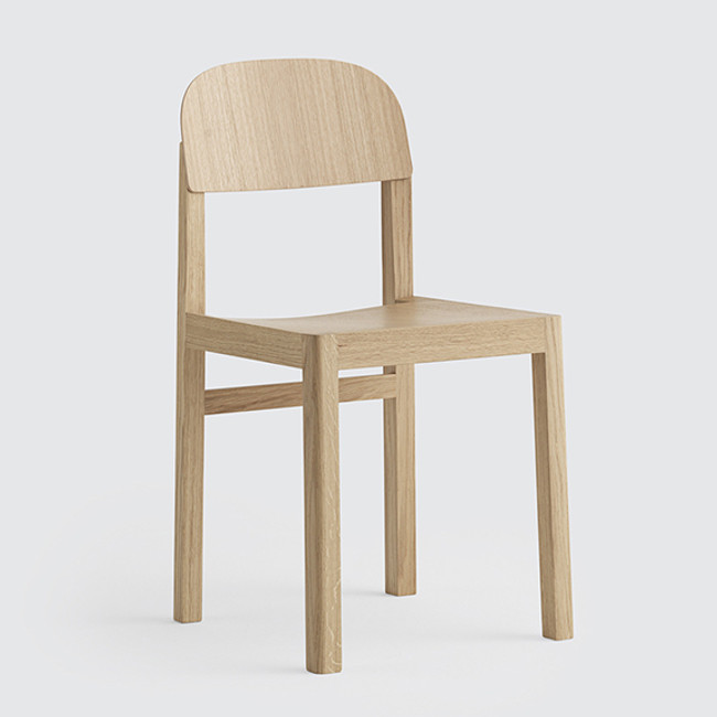 Muuto Workshop Chair in Oak