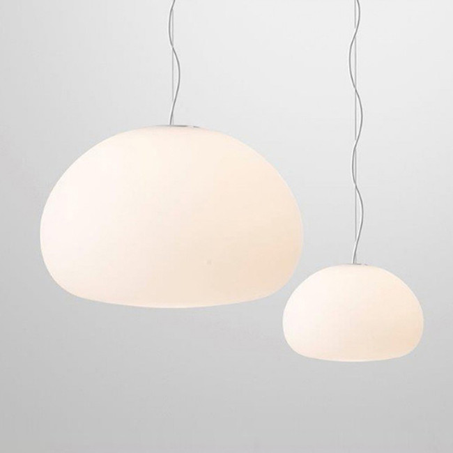 Muuto Fluid small and large pendants