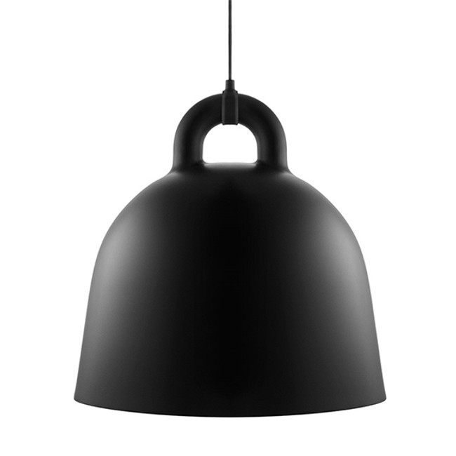 Normann Copenhagen Bell Lamp Black Large