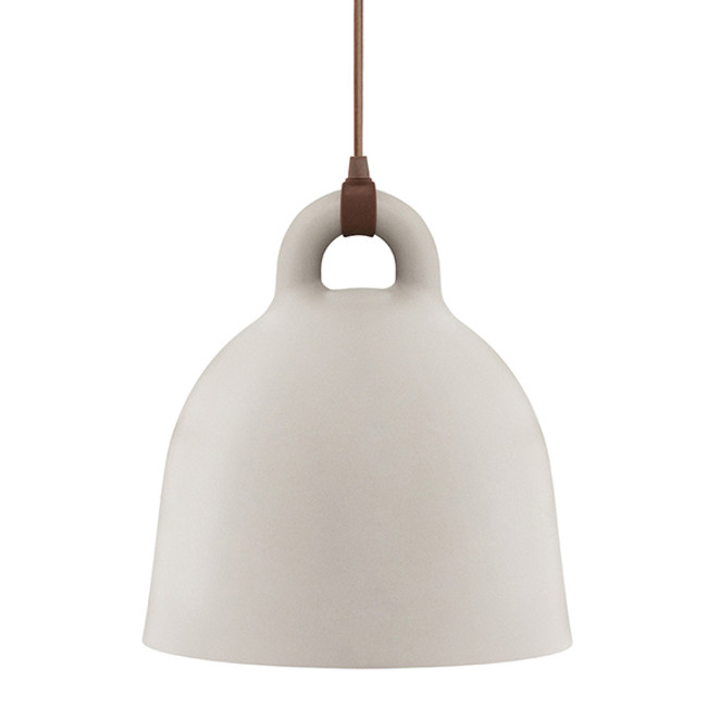 Normann Copenhagen Bell Lamp Medium in Sand