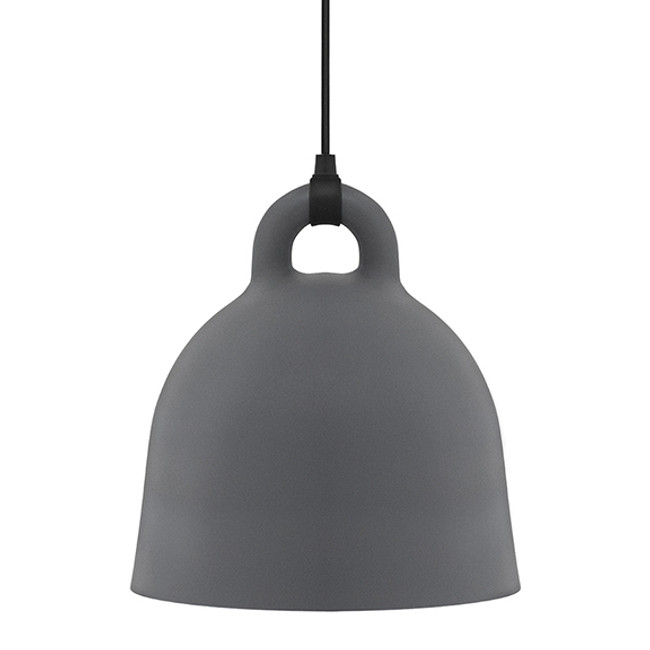 Normann Copenhagen Bell Lamp Medium in Grey