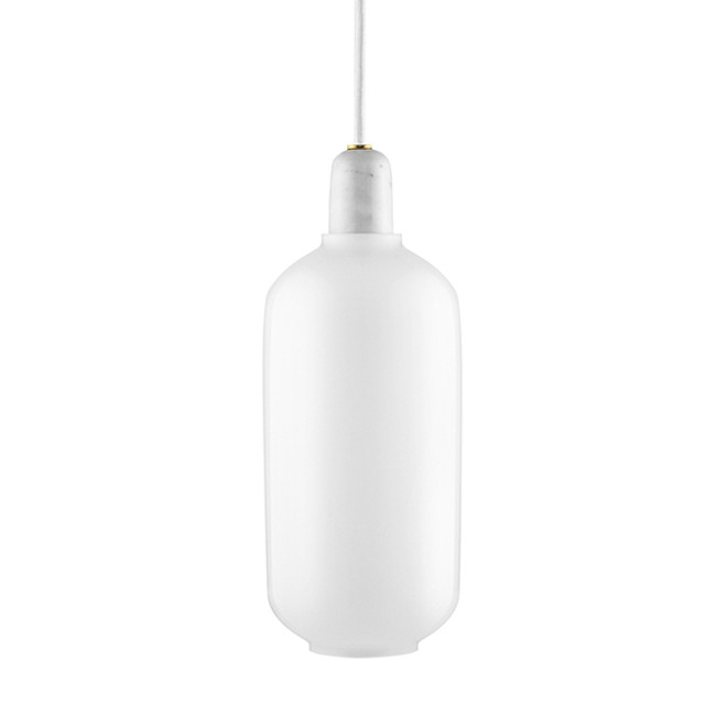 New Amp lamp in White/white Large
