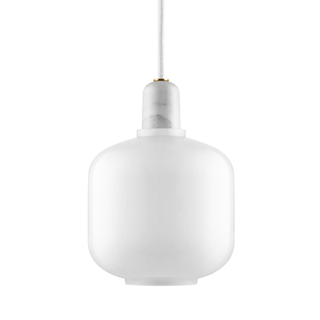 Amp Lamp White/White Small