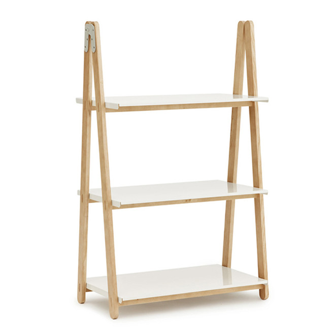Normann Copenhagen  |  One Step Up Bookcase Low