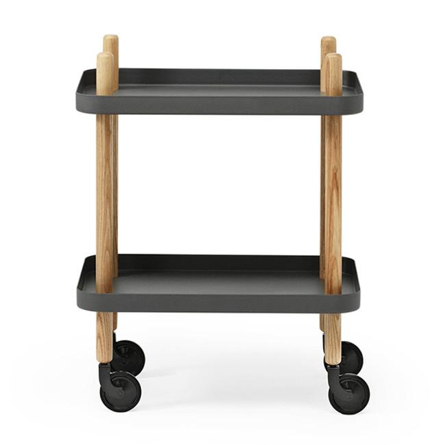 Block table in dark grey