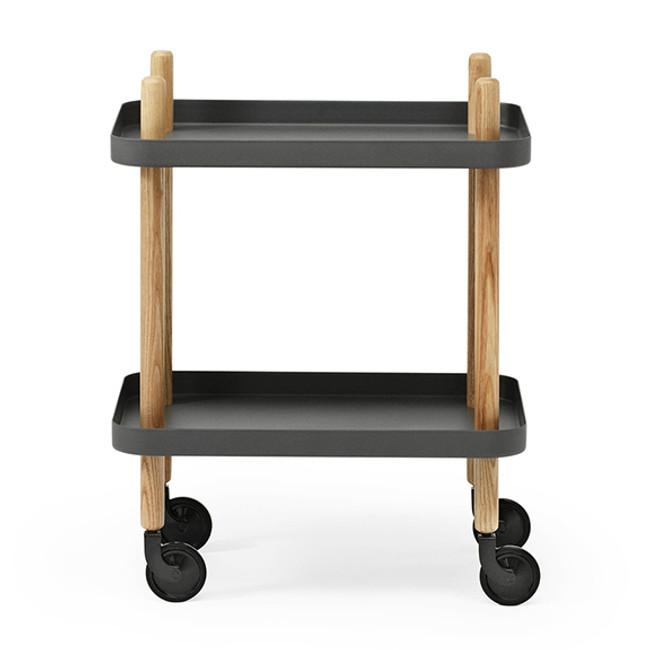 Block table in dark grey