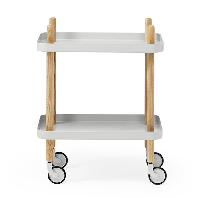 Block table in light grey