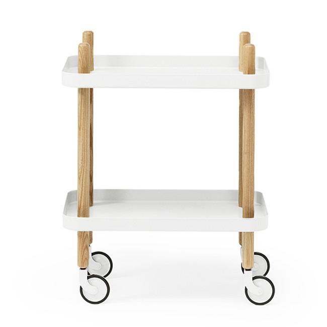Block Table White