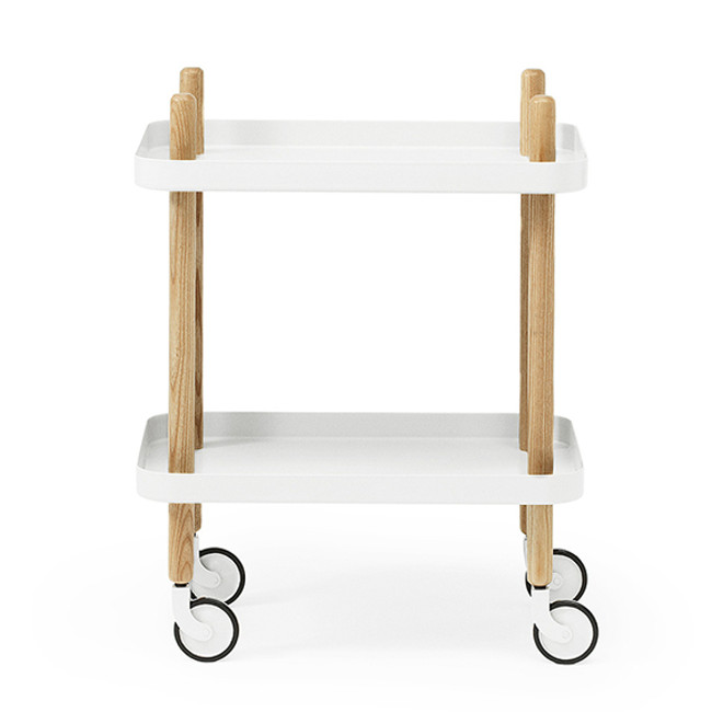 Block Table White