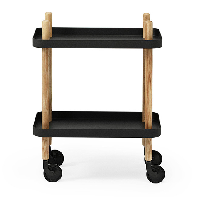 Block table in black