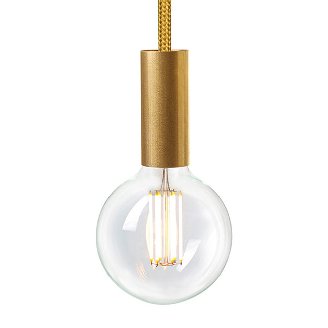 NUD Rail Pendant with gold spire TT-150