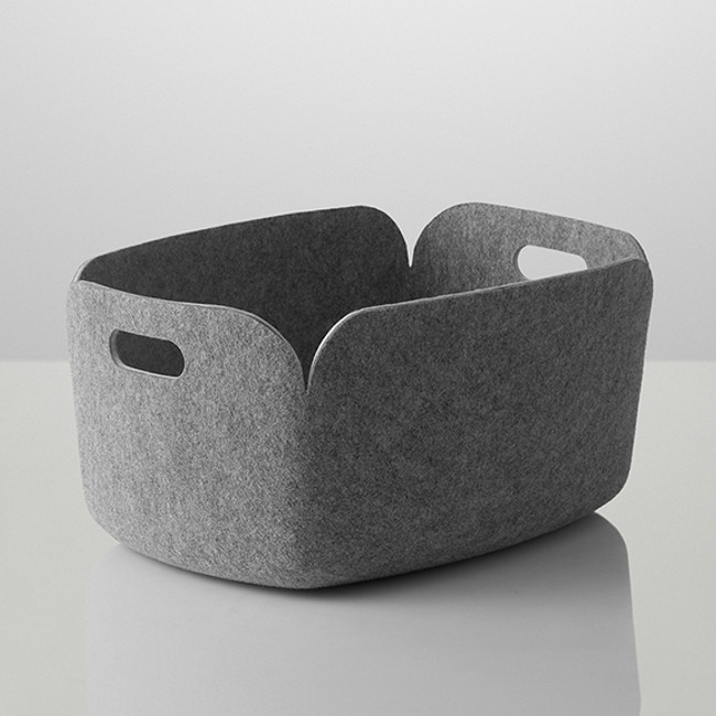Muuto Restore Basket in Grey