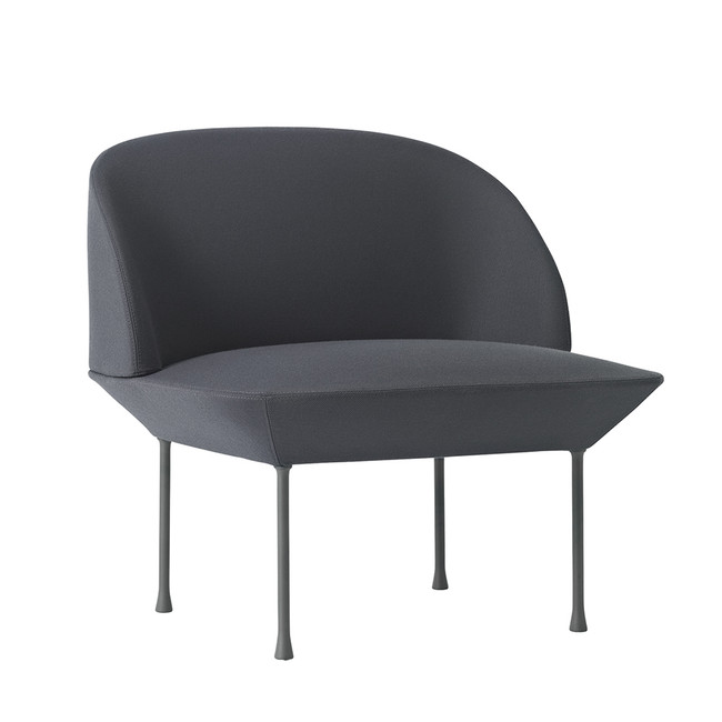 Muuto Oslo chair in Steelcut 180