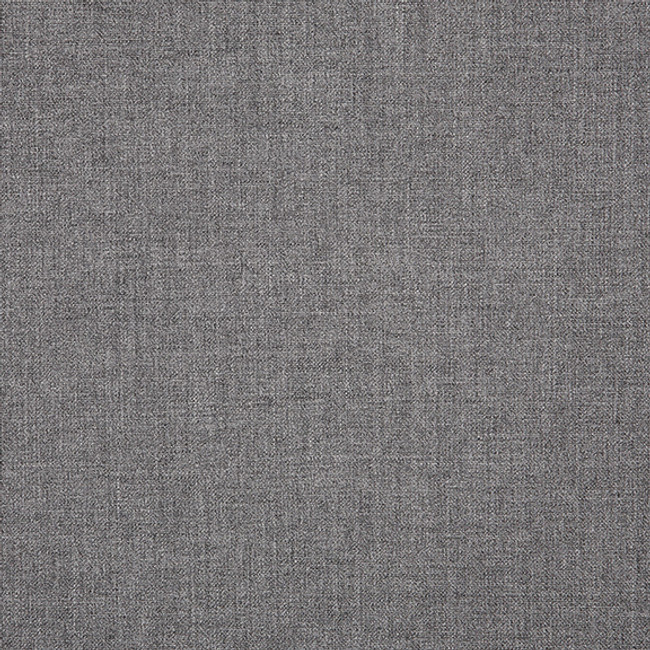 The Sunbrella Cast Armour fabric boasts a lovely shade of grey