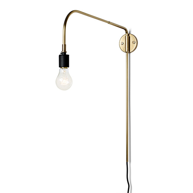 Menu Warren Lamp in Brass