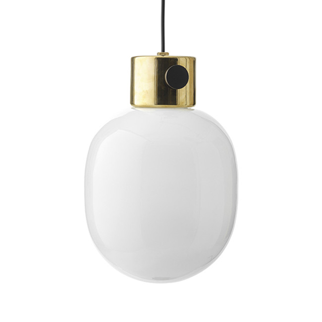 Menu JWDA Pendant Polished Brass