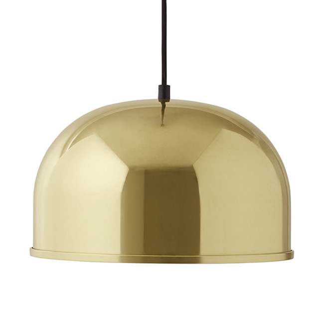 GM 30 Metallic Pendant in brass