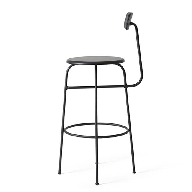 Menu Afteroom Bar Chair in black