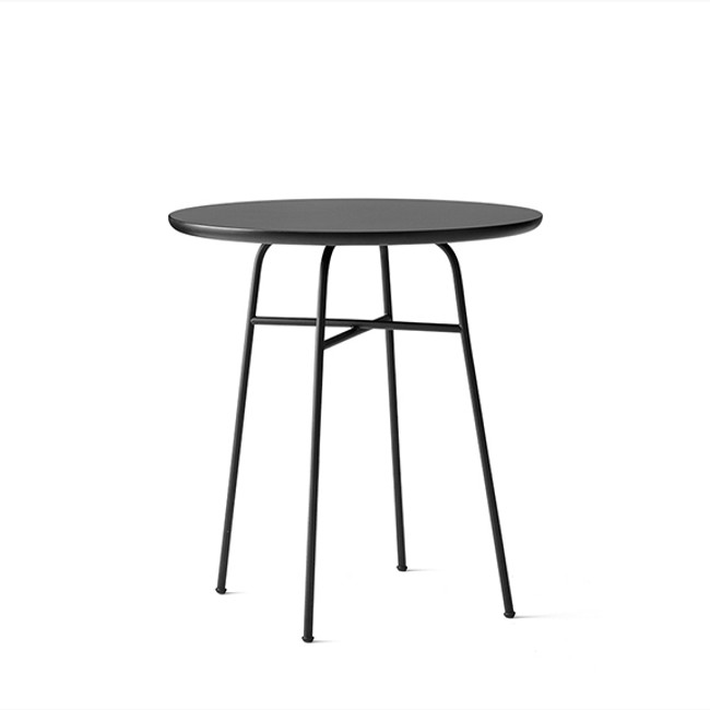 Menu Afteroom Cafe Table in black