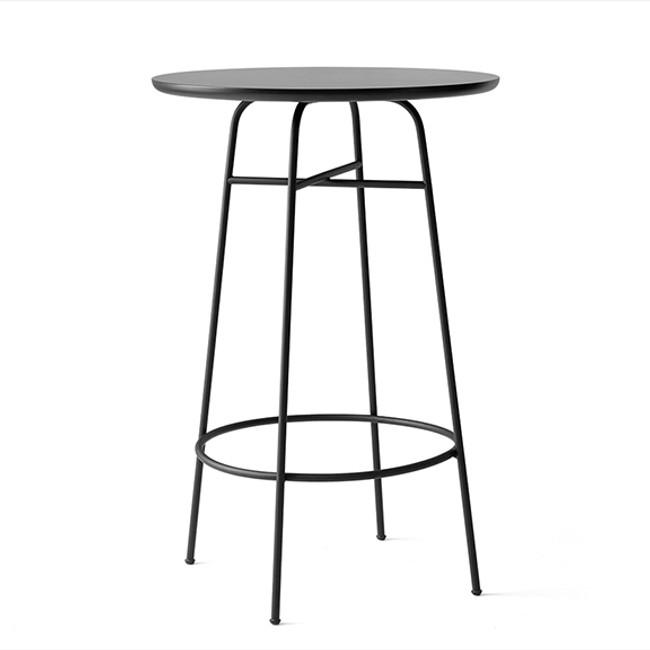 Menu Afteroom Bar Table in black