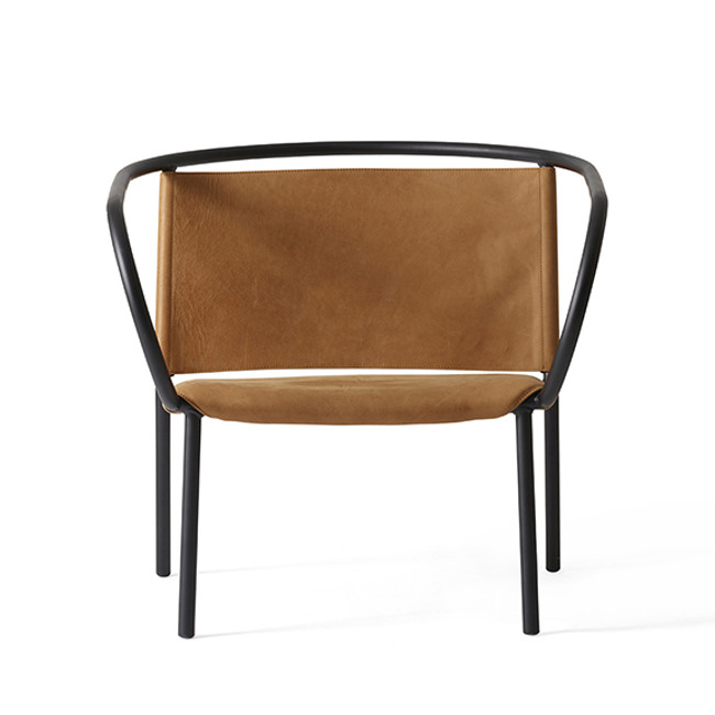 Menu Afteroom Lounge Chair in cognac