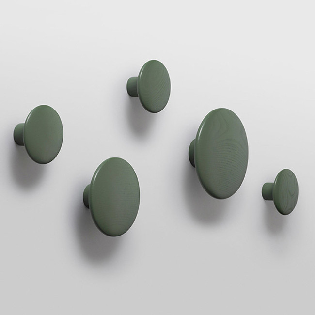 Muuto Dots in dusty green