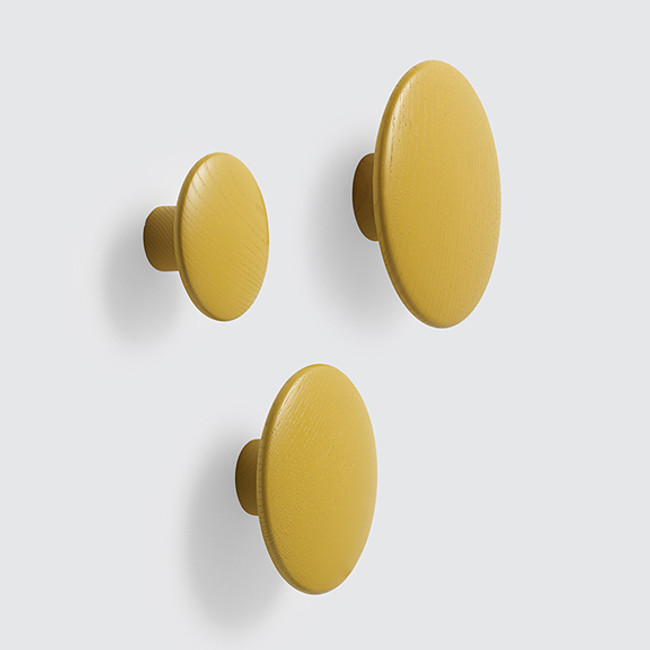 New Muuto dots in mustard