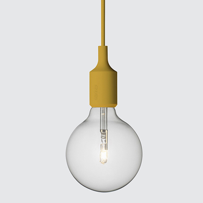New Muuto E27 pendant in mustard