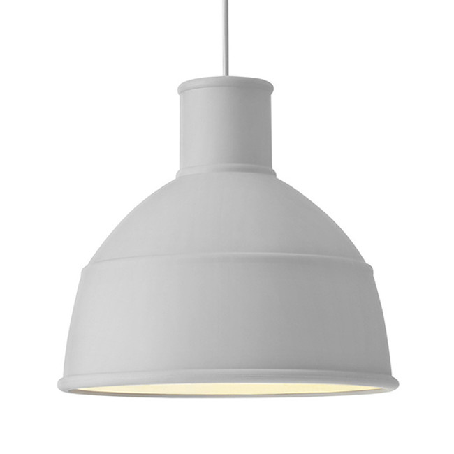 Muuto Unfold Pendant in light grey