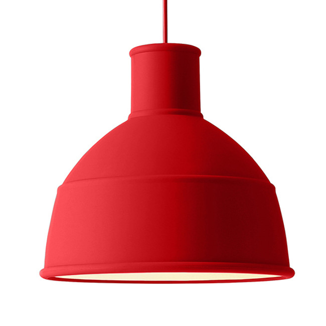 Muuto Unfold Light in Dusty Red