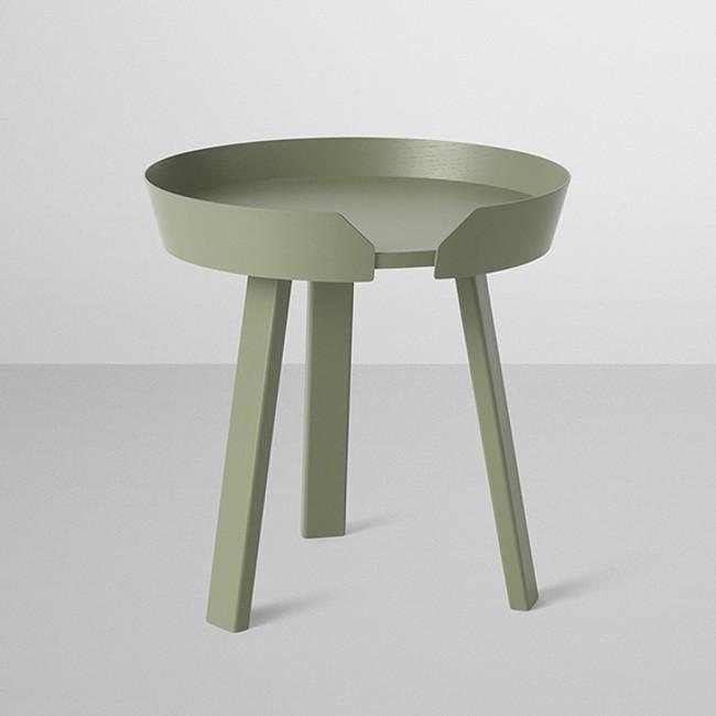 Muuto Around Table in dusty green