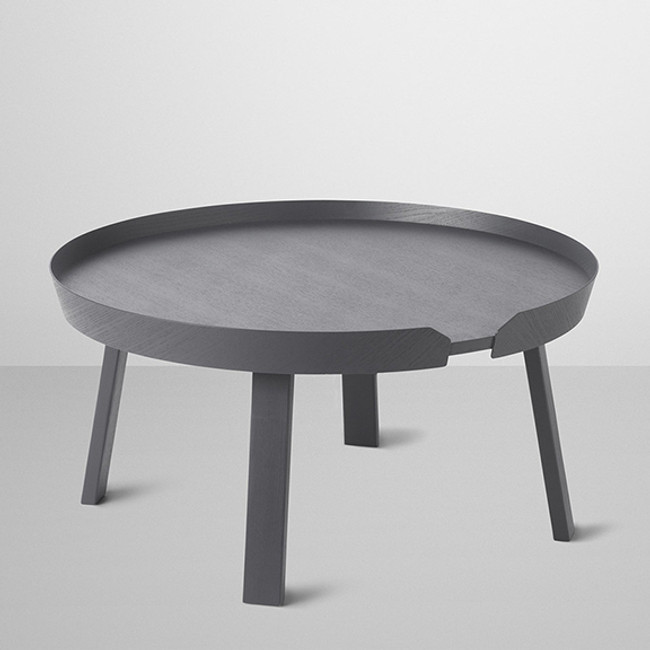 Around coffee table in anthracite