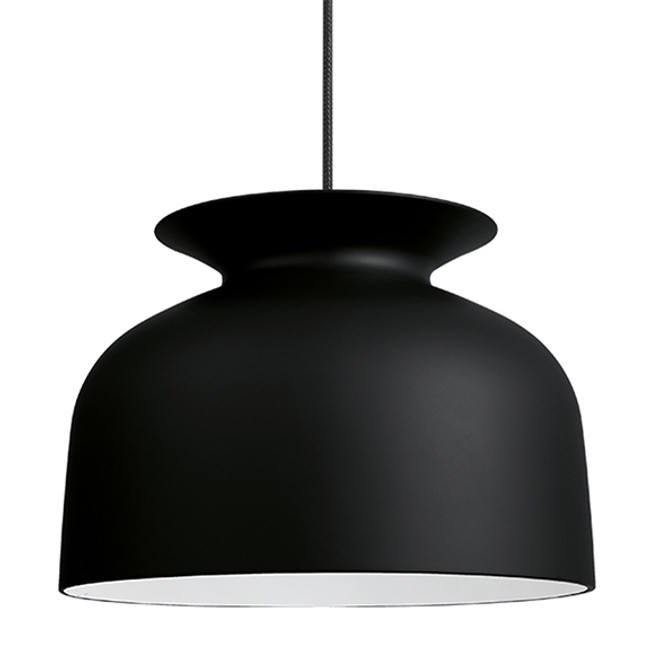 The Gubi Ronde Pendant Large in Black