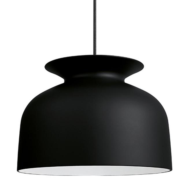 The Gubi Ronde Pendant Large in Black
