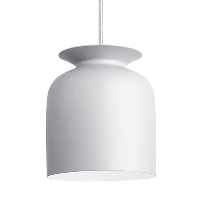 Gubi Ronde Pendant Small in Matt White