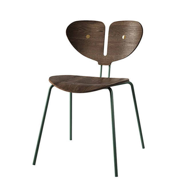 Nordic Tales Moth Chair in Smoked oak