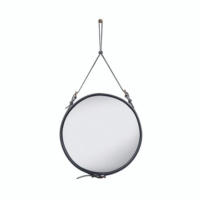 Gubi Adnet Circulaire Mirror M in Black