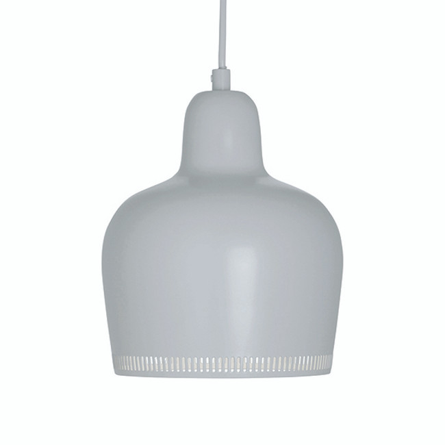 Artek Golden Bell Pendant in white