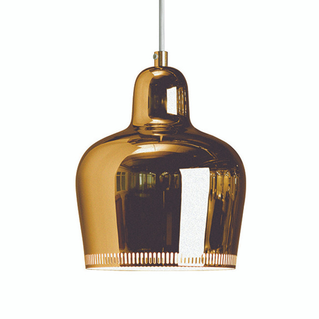 Artek Golden Bell Pendant in brass