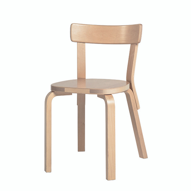 Chair 69 with birch veneer seat