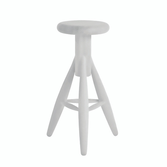Artek EA001 Stool Rocket in white