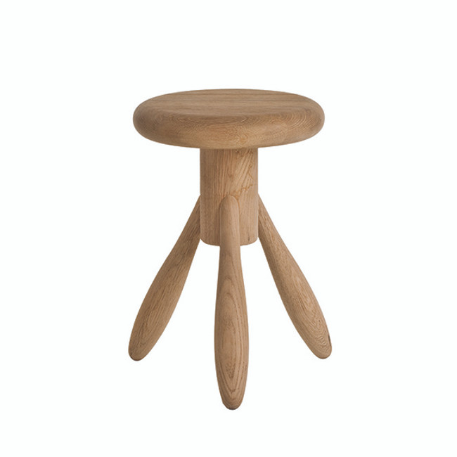 Artek EA002 Baby Rocket Stool in soaped