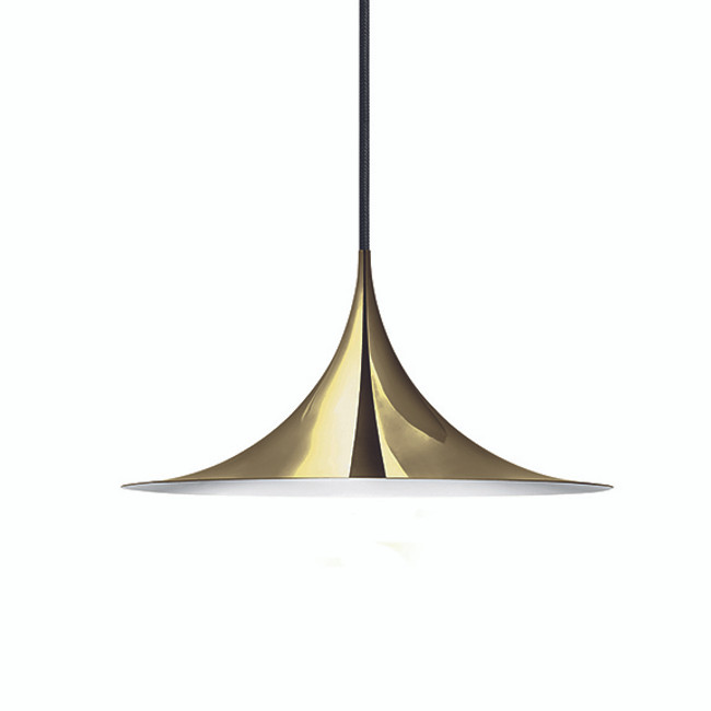 Gubi Semi Pendant 30cm in brass