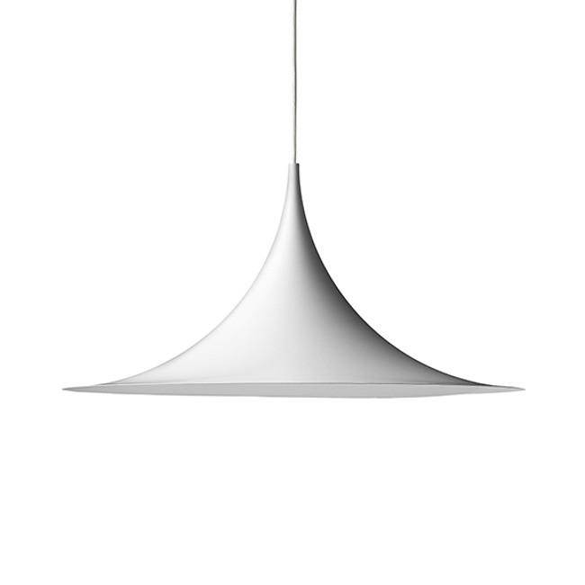 Gubi Semi Pendant 47cm in Matt White
