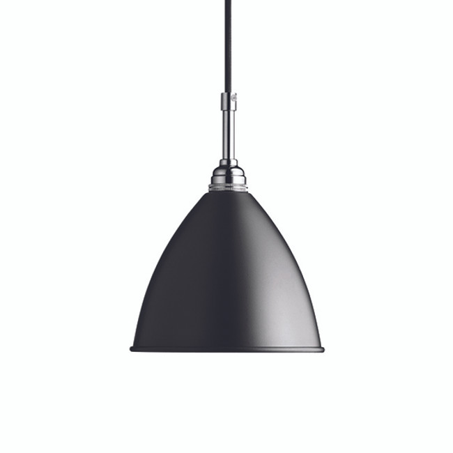 Gubi Bestlite Pendant BL9S in Black/Chrome