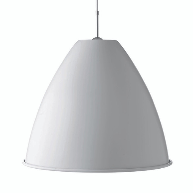 Bestlite Pendant BL9XL in Matt White/Chrome